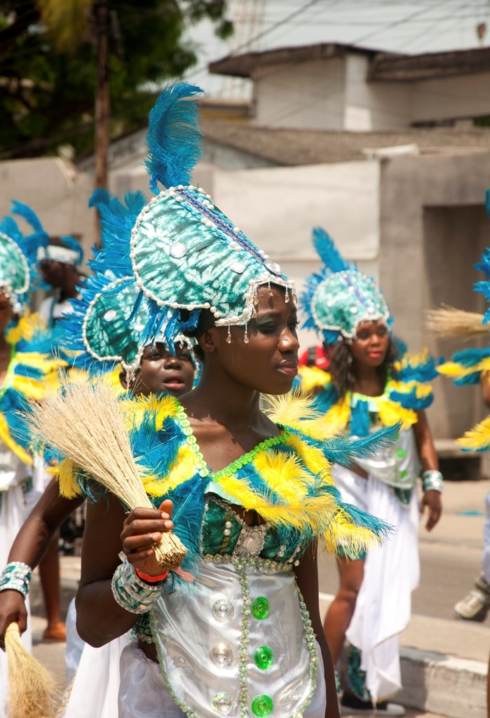 Lagos locals fear annual carnival's links to Brazilian past are being lost