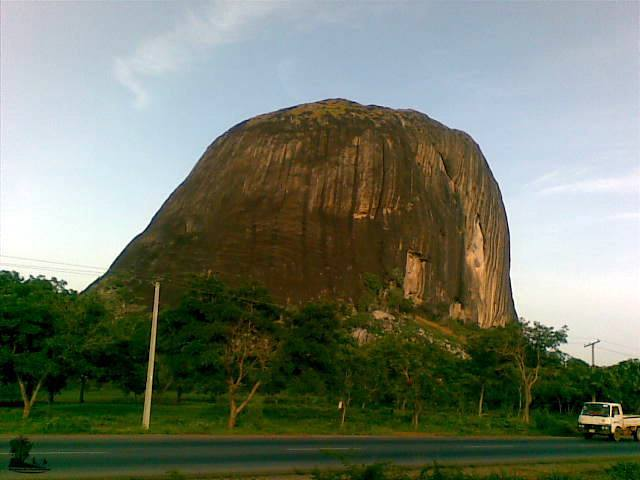 Zuma Rock, photographed from the west direction_Naijatreks