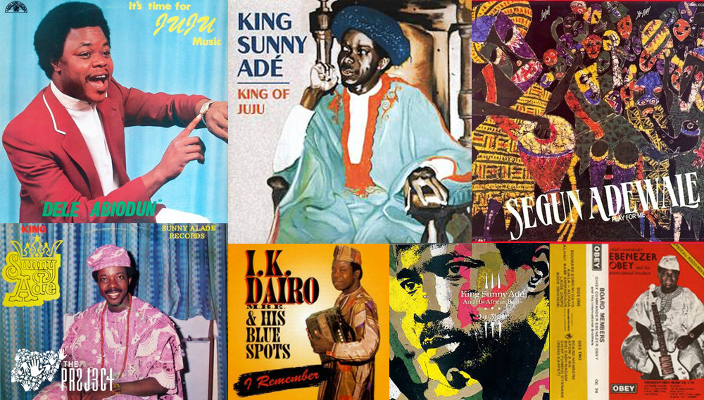 13 NIGERIAN ARTISTS THAT INFLUENCED JUJU MUSIC