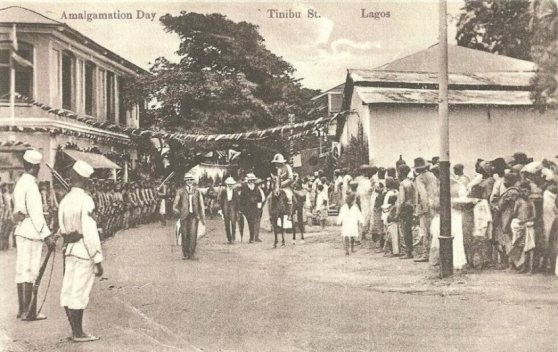 Amalgamation Day in Lagos, 1914